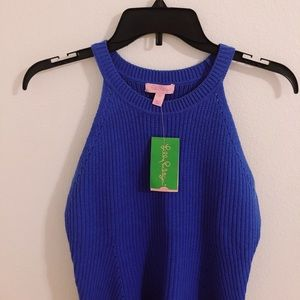 NWT Blue Lilly Pulitzer Sweater